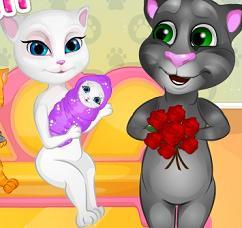 Play Angela Baby Birth Game