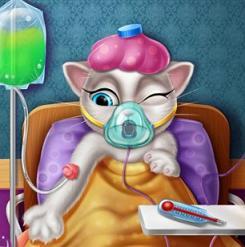 Play Angela Flu Doctor Game