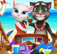Play Tom And Angela Summer Luggage Game