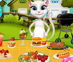 Play Angela Barbeque Day Game