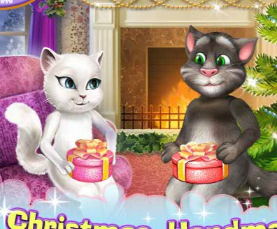 Play Tom and Angela Handmade Presents Game