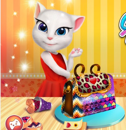 Play Tom and Angela Sweet Shop Game