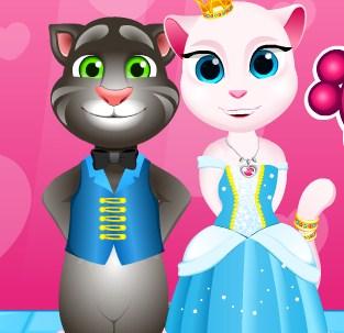 Play Angela Princess Cat Care Game
