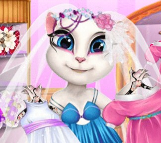 Play Sweet Angie Fashion Dressing Room Game